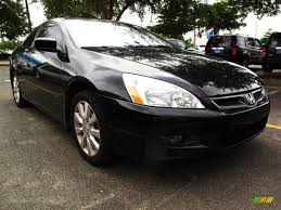 2006 black honda accord coupe 2006 honda accord ex v6 coupe in nighthawk black pearl 002777