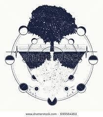 astronaut space tattoo cosmonaut universe solar stock vector