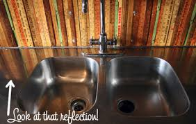 shine stainless steel sink use flour to polish stainless steel lifehacker australia