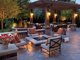 Simple Brick Patio With Circle Paver Kit Patio Designs And Ideas by Fire Pits Design Fabulous Paver Patios With Fire Pit Fresh And