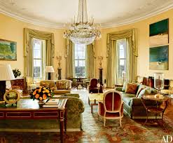 Yellow Room The Obama Family U0027s Stylish Private World Inside The White House