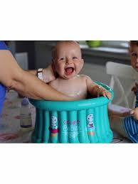 siege enfant gonflable baignoire piscine gonflable pour bébé
