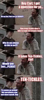 Rick Carl Memes - walking dead meme carl and rick dead best of the funny meme