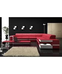 canapé design cuir grand canapé d angle design cuir