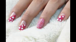 nail art at home easy design in steps youtube