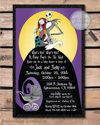 nightmare before christmas baby shower decorations nightmare before christmas baby shower invitations nightmare
