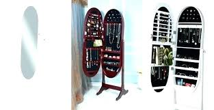 standing mirror jewelry cabinet standing mirror jewelry cabinet exmedia me