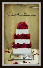 Square Wedding Cakes Cake Adoration Wedding Cake Gallery