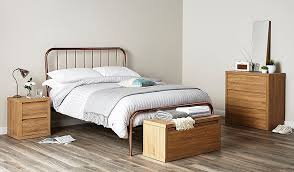 Bedroom Furniture Asda Valerie Copper Bed Double Beds George At Asda