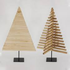 wooden christmas tree christmas decor