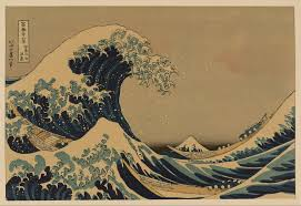 the great wave off shore of kanagawa free images at clker com