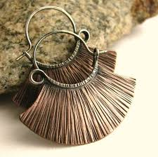 metal earings resultado de imagen de earrings copper create create