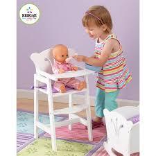 chaise haute poup e chaise haute poupée kidkraft achat vente accessoire