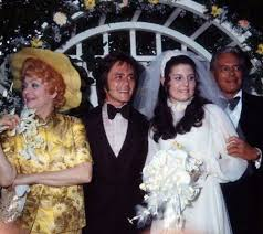 lucy arnaz today lucille ball and desi arnaz at their daughter s wedding 1971