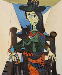 pablo picasso dora maar with a cat