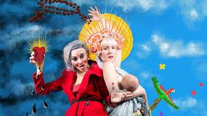 queen sacred or profane comedy sketch show by deborah