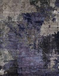 rug u0026 home canvas 1102 silver blue rug rectangle 4 u0027x6