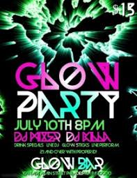 glow party customizable design templates for glow party postermywall