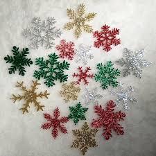 get cheap felt snowflake ornaments aliexpress