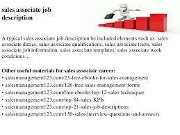 Job Description Of Sales Associate For Resume Engineering Cover Letter Outline Interesting Topics For A Process