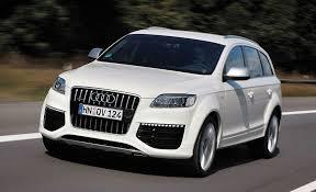 2009 audi q7 v12 tdi diesel review car and driver