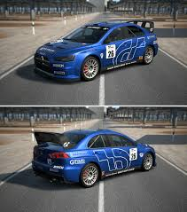 mitsubishi rally car mitsubishi lancer evolution x rally car by gt6 garage on deviantart