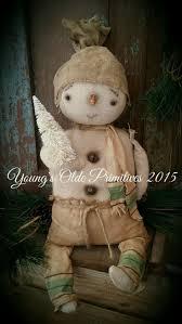802 best christmas primitive snowmen images on pinterest