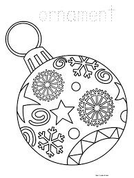 ornaments coloring pages jacb me