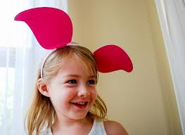 Winnie Pooh Halloween Costume Diy Winnie Pooh Ears Piglet Ears Tigger Ears Merriment Design