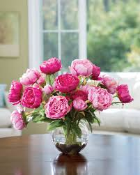 faux flowers buy customer favorite deluxe peony silk flower centerpieces at