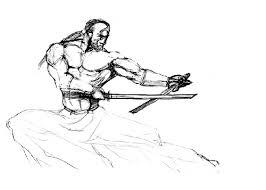 samurai sketch wetcanvas