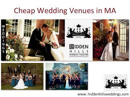 affordable wedding venues in ma cheap wedding venues in ma