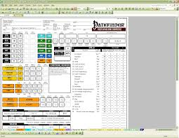 scoreforge pathfinder character creator download sourceforge net