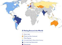 Where Is Germany On The World Map by Electronic Voting And Counting Around The World National