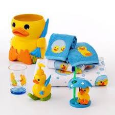 bath buddy kids rubber duck yellow 2pc bath rug set new rubber
