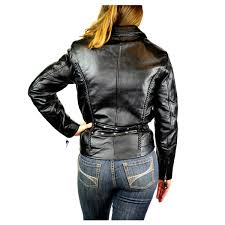 womens leather motorcycle jacket detour 8307 women u0027s leather motorcycle jacket jafrum