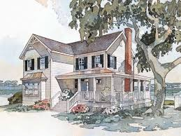 country farmhouse floor plans eplans farmhouse house plan windsong cottage from the southern
