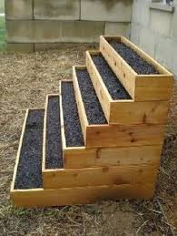 Raised Garden Bed With Bench Seating Raised Bed With Bench I Really Like This Yard Porches
