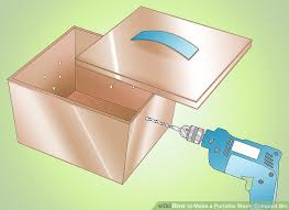 How To Make A Paper Worm - how to make a portable worm compost bin 8 steps with pictures