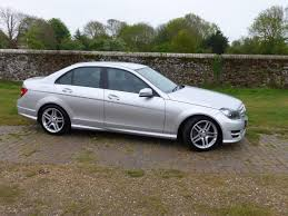 used mercedes c class used 2012 mercedes benz c class c220 cdi blueefficiency amg sport