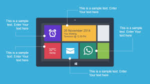 animated mobile technology powerpoint template slidemodel