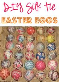 Decorating Easter Eggs With Silk by Diy Silk Tie Easter Eggs At Thefrugalgirls Com You U0027ll Love