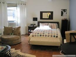 lovely studio apartment furnishing ideas with small one bedroom