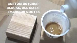 how do i make butcher block darker youtube how do i make butcher block darker