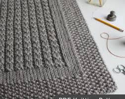 Wedding Gift Knitting Patterns Afghan Knitting Etsy