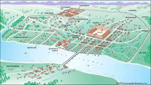 Roman World Map by Roman City Of Londinium Around Ad 200 Brilliant Maps