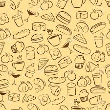 seamless pattern food food and drink seamless pattern royalty free cliparts vectors and