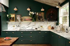 green kitchen cabinets with white island green kitchens 20 gorgeous ideas for those who an