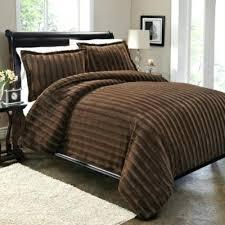 Bed Bath Beyond Duvet Cover Buy Sable Fur Duvet Cover Set In Brown From Bed Bath Beyond Faux