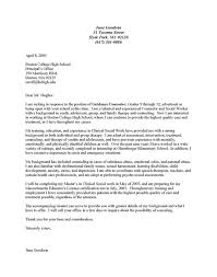 23 cover letter template for counselor digpio with sample